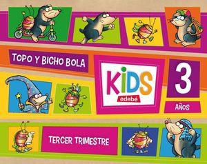 KIDS 3 AÑOS TERCER TRIMESTRE 2013