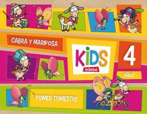 KIDS 4 AÑOS PRIMER TRIMESTRE 2013