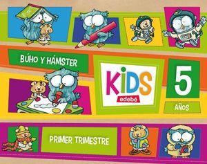 KIDS 5 AÑOS PRIMER TRIMESTRE 2013