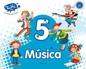 MUSICA 5º EP +CD TUTTI (2016)