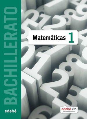 MATEMATICAS 1 BACHILLERATO CC.NATURALES 2015