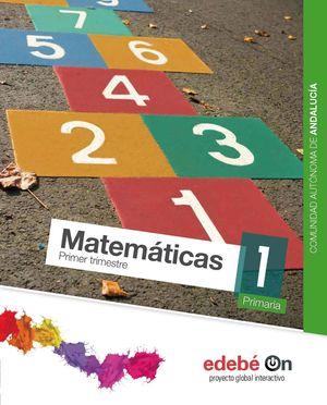 MATEMATICAS 1ºEP (TRIMESTRES) 2015