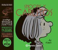 SNOOPY Y CARLITOS TIRAS DIARIAS Y DOMINICALES 1977 A 1978
