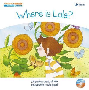 CUENTOS BILINGÜES. WHERE IS LOLA? - ¿DÓNDE ESTÁ LOLA?