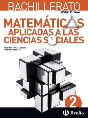 MATEMATICAS APLICADAS A LAS CIENCIAS SOCIALES 2 BACH