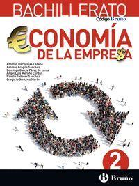 ECONOMIA DE LA EMPRESA 2ºBACH. 2016