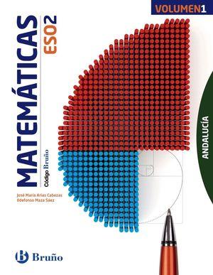 CÓDIGO BRUÑO MATEMÁTICAS 2 ESO ANDALUCÍA - 3 VOLÚMENES