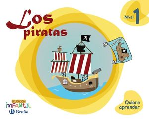 LOS PIRATAS NIVEL 1 (3 AÑOS) QUIERO APRENDER
