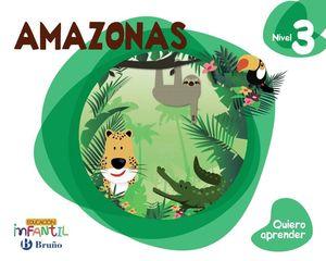 QUIERO APRENDER NIVEL 3 AMAZONAS 5 AÑOS