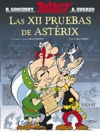 LAS XII PRUEBAS DE ASTERIX. EDICION 2016