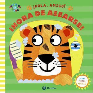 HOLA AMIGO HORA DE ASEARSE!