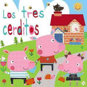 LOS TRES CERDITOS (CAJA CON LIBRO + MUÑECOS)
