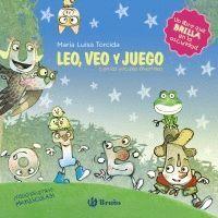 LEO, VEO Y JUEGO CON LAS VOCALES DIVERTIDAS (MAYUSCULA)