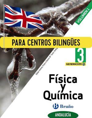 FÍSICA Y QUÍMICA 3 ESO ANDALUCÍA 3 VOLÚMENES