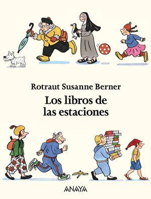 LOS LIBROS DE LAS ESTACIONES (ESTUCHE 4 LIBROS)