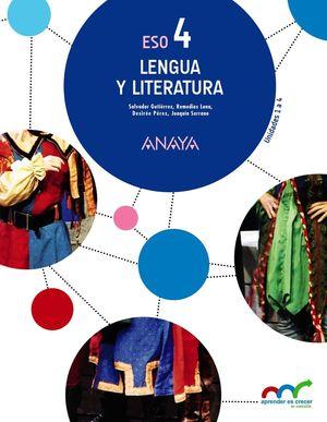 LENGUA Y LITERATURA 4 ESO MEC (TRIMESTRES)
