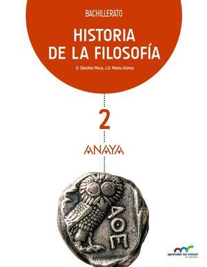 HISTORIA DE LA FILOSOFIA 2º BACH. 2016