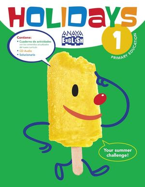 HOLIDAYS 1º PRIMARY +CD 2016