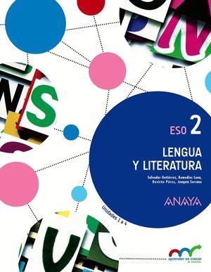 LENGUA Y LITERATURA 2º ESO MEC TRIMESTRES 1016