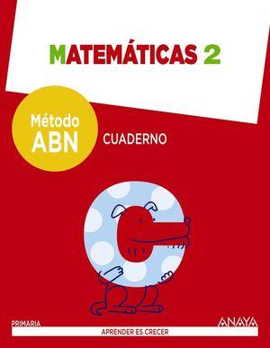 MATEMATICAS 2. METODO ABN. CUADERNO.