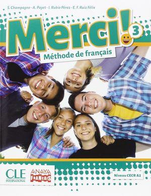 MERCI 3ºESO (LIVRE+CAHIER ANDALUCIA)