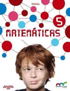 MATEMÁTICAS 5. (CON RESOLUCIÓN DE PROBLEMAS 5).