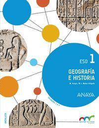GEOGRAFIA E HISTORIA 1º ESO (TRIMESTRES) ANDALUCIA