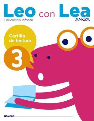 LEO CON LEA. CARTILLA DE LECTURA 3.