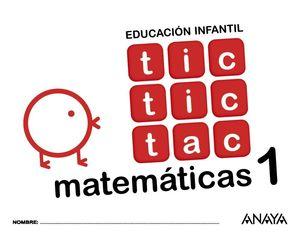 TIC TIC TAC MATEMÁTICAS 1.