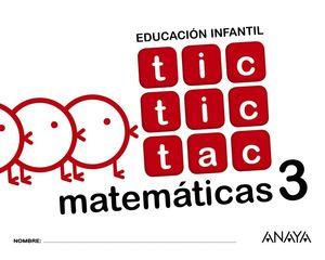 TIC TIC TAC MATEMÁTICAS 3.