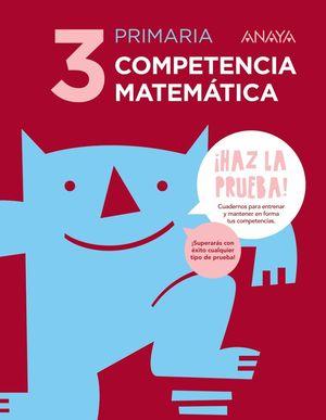 COMPETENCIA MATEMÁTICA 3.