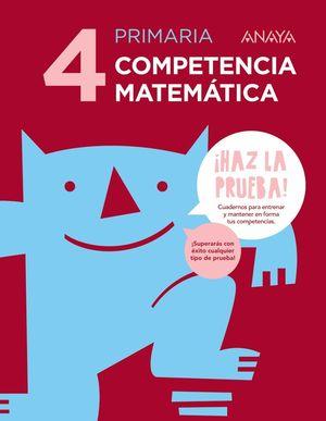 COMPETENCIA MATEMÁTICA 4.