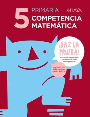 COMPETENCIA MATEMÁTICA 5.