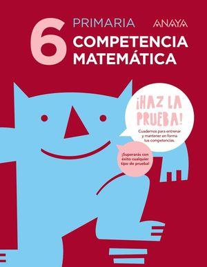 COMPETENCIA MATEMÁTICA 6.