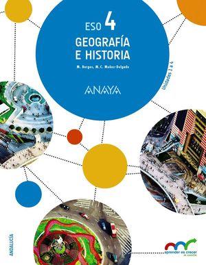 GEOGRAFÍA E HISTORIA 4. (TRIMESTRES)