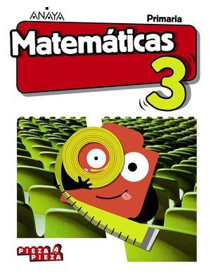 MATEMÁTICAS 3. (INCLUYE TALLER DE RESOLUCIÓN DE PROBLEMAS)