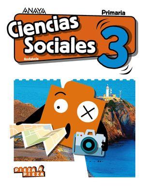 CIENCIAS SOCIALES 3ºEP. PIEZA A PIEZA. ANDALUCÍA 2019