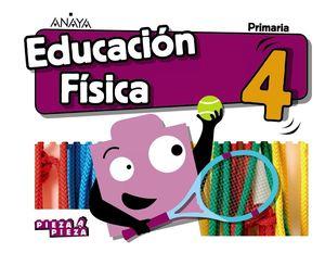EDUCACIÓN FÍSICA 4ºEP PIEZA A PIEZA 2019