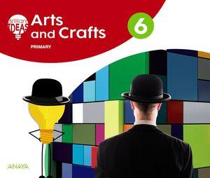 ARTS AND CRAFTS 6. PUPIL'S BOOK + PORTFOLIO