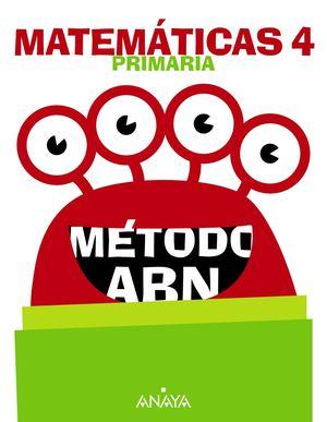 MATEMÁTICAS 4º PRIMARIA MÉTODO ABN