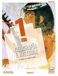 GEOGRAFÍA E HISTORIA 1 ESO TRIMESTRAL COLEGIOS BILINGÜES