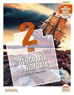 GEOGRAFÍA E HISTORIA 2 ESO 2021 SUMA PIEZAS