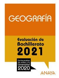 2021 GEOGRAFIA EVALUACION DE BACHILLERATO