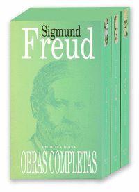 FREUD - OBRAS COMPLETAS - (ESTUCHE DE 3 TOMOS)