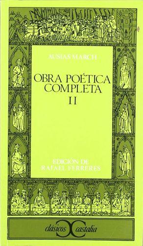 OBRA POÉTICA COMPLETA, II                  .