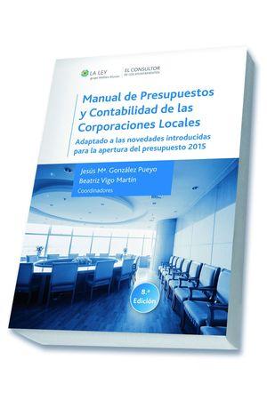 MANUAL DE PRESUPUESTOS Y CONTABILIDAD DE LAS CORPORACIONES LOCALE