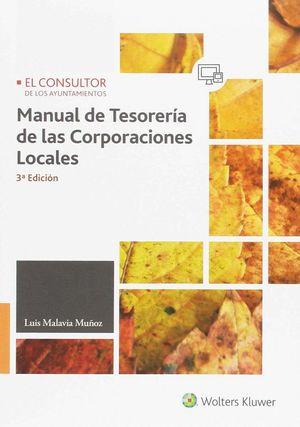 MANUAL DE TESORERIA DE LAS CORPORACIONES LOCALES 3ª ED.