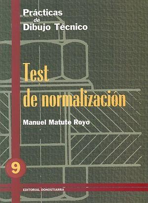 PRACTICAS DIBUJO 9 TEST NORMALIZACION