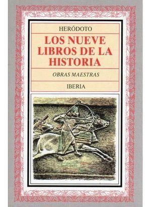 NUEVE LIBROS DE LA HISTORIA 2 VOL.