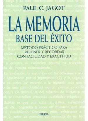 MEMORIA BASE DEL EXITO LA